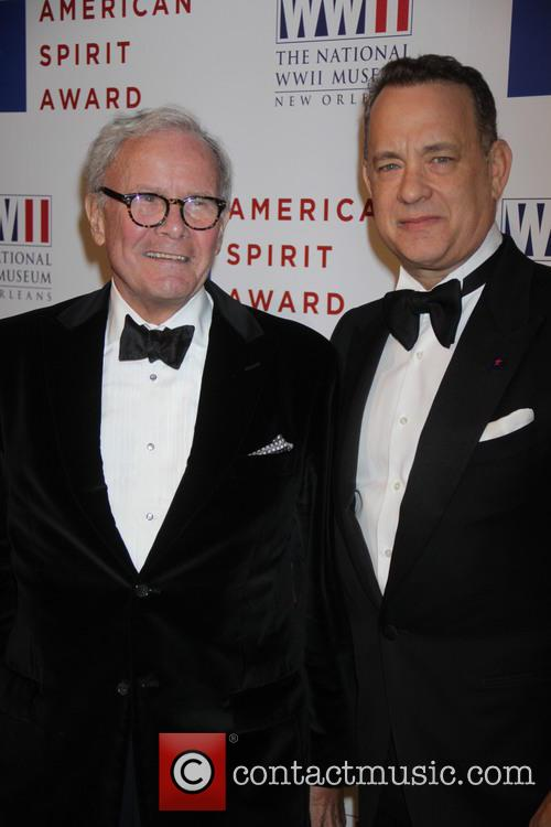 Tom Hanks and Tom Brokaw 3