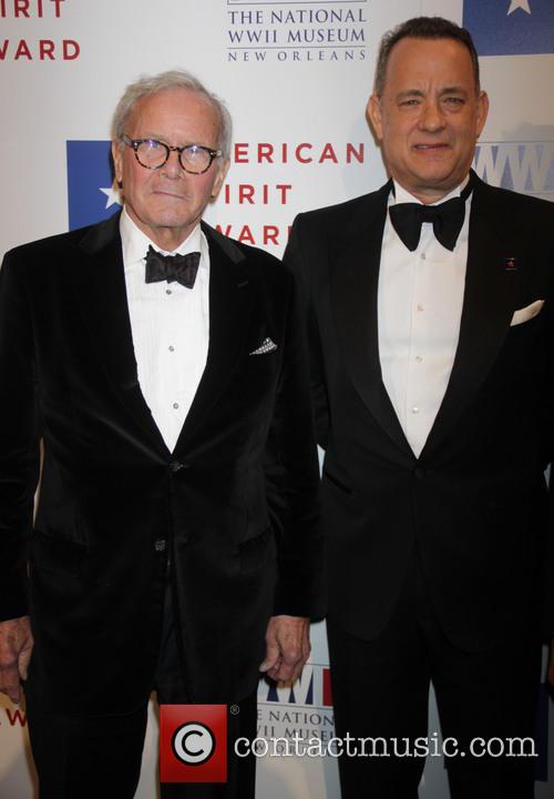 Tom Hanks and Tom Brokaw 6