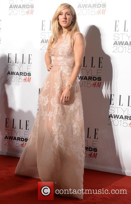 Ellie Goulding at the Elle Style Awards 2015