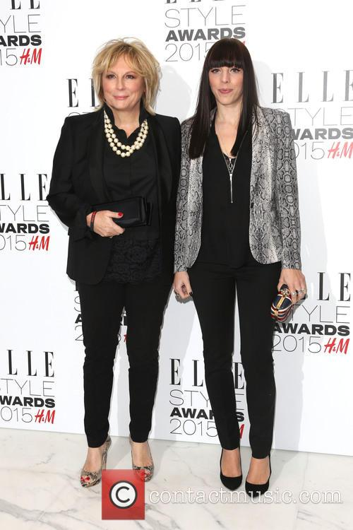 Jennifer Saunders and Ella Edmondson