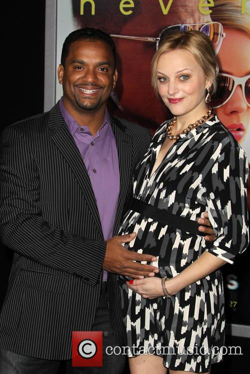 Alfonso Ribeiro and Angela Unkrich 3
