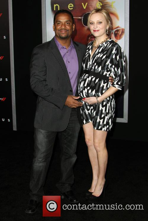 Alfonso Ribeiro and Angela Unkrich 5