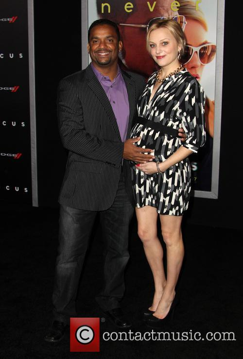 Alfonso Ribeiro and Angela Unkrich 6
