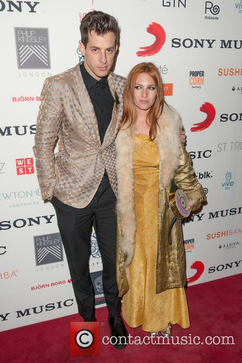 Mark Ronson and Josephine De La Baume 2