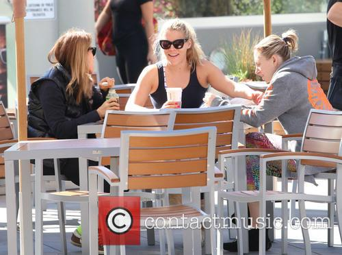 Busy Philipps spending time having a coffee with...