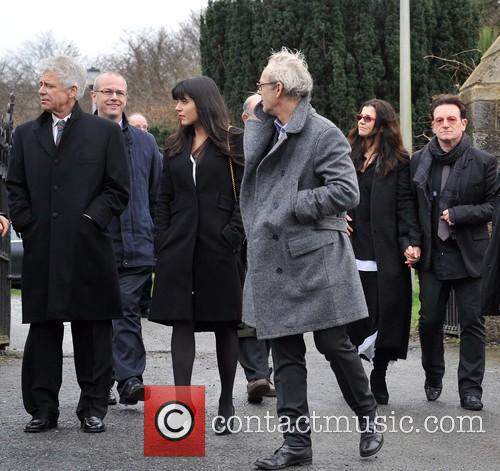 Adam Clayton, Mariana Teixeira De Carvalho, Ali Hewson and Bono 3