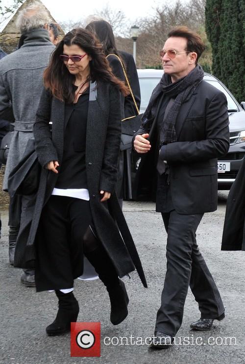 Ali Hewson and Bono 5