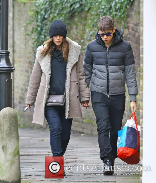 Keira Knightley and James Righton 4
