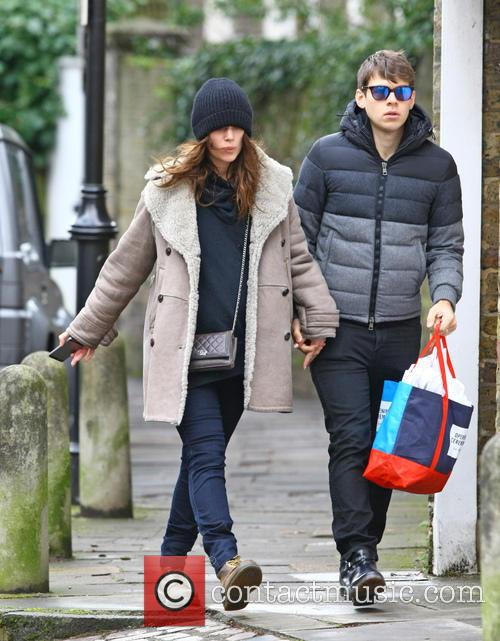 Keira Knightley and James Righton 7