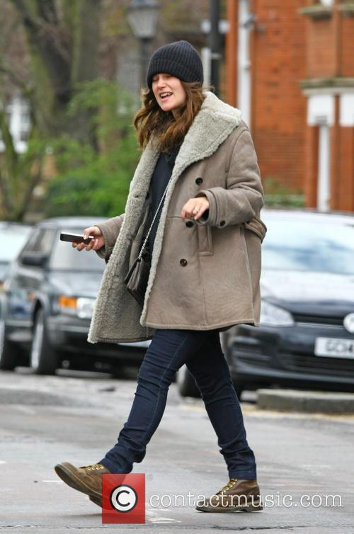 keira knightly out in london