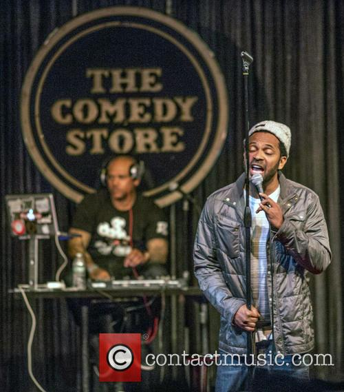 Mike Epps performing live on the LaffMob Stage