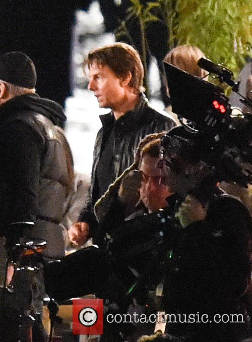 Film set for 'Mission: Impossible 5'
