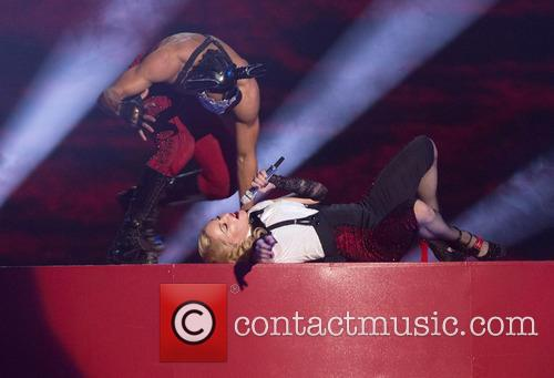 Madonna at the 2015 Brit Awards
