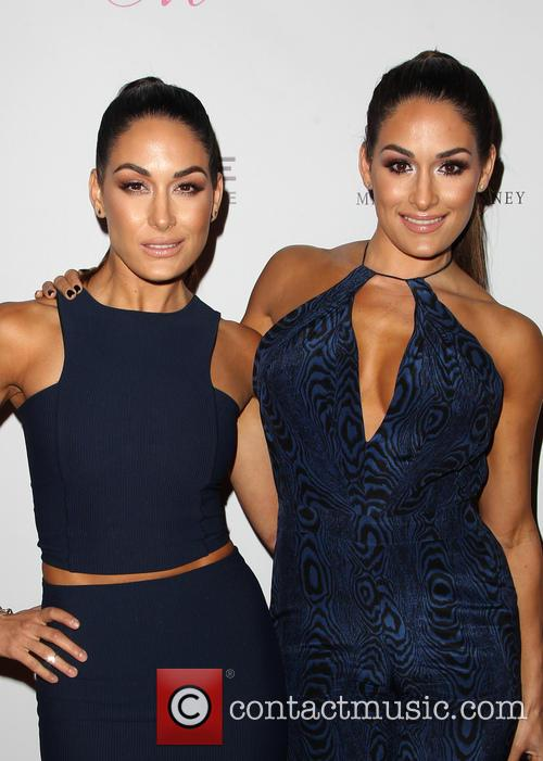 Brie Bella and Nikki Bella 1