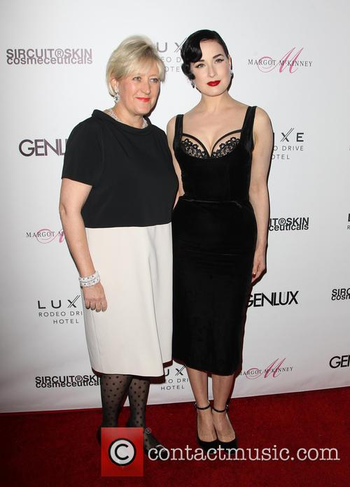 Dita Von Teese hosts Genlux Issue Release Event