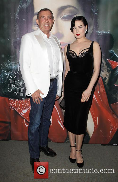 Michael Wolfgeher and Dita Von Teese 2