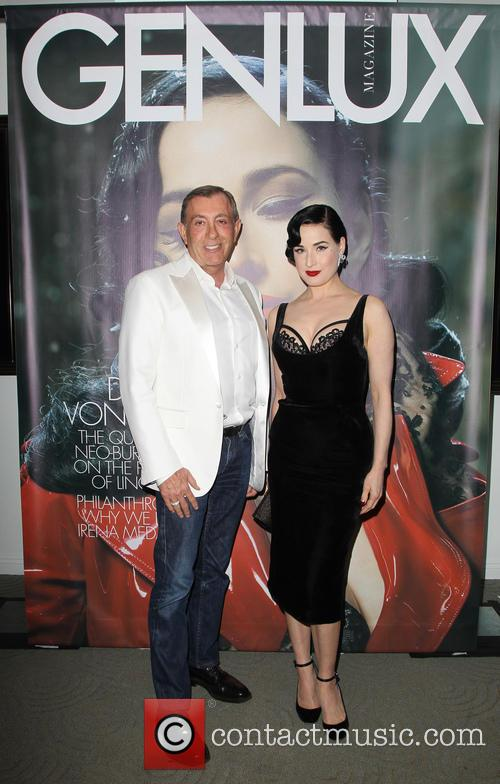 Michael Wolfgeher and Dita Von Teese 3