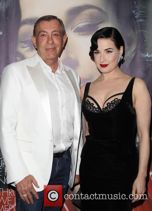 Michael Wolfgeher and Dita Von Teese 1