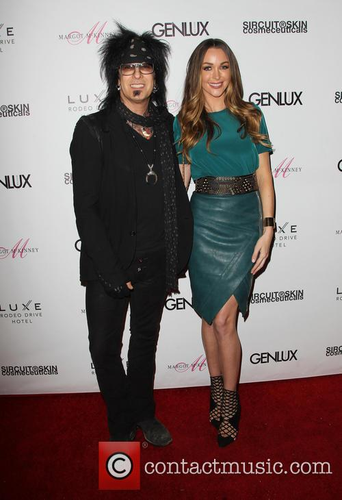 Nikki Sixx and Courtney Bingham 7