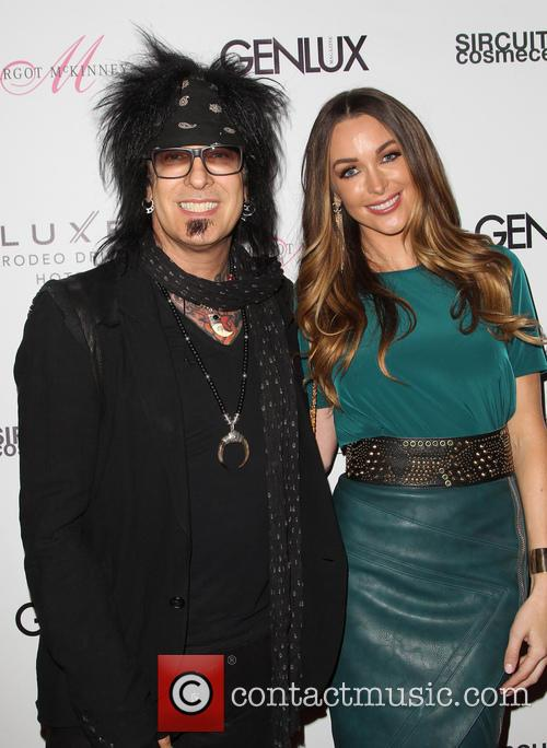 Nikki Sixx and Courtney Bingham 1