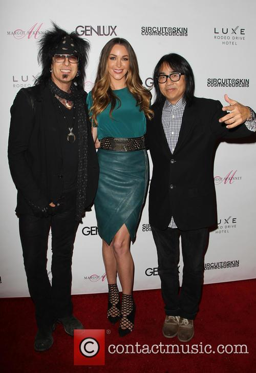 Nikki Sixx, Courtney Bingham and Steven Kamafuji 3