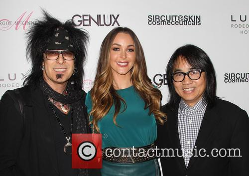Nikki Sixx, Courtney Bingham and Steven Kamafuji 4
