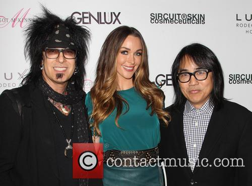 Nikki Sixx, Courtney Bingham and Steven Kamafuji 5