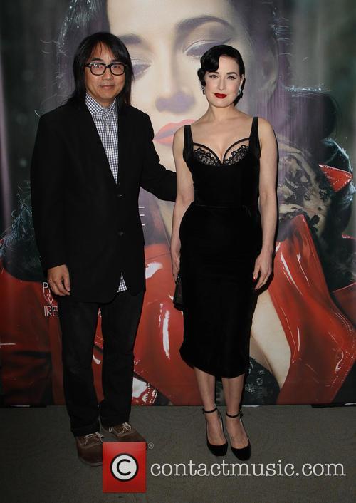 Steven Kamafuji and Dita Von Teese 11