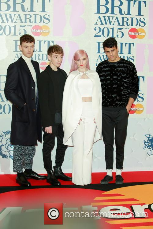 Clean Bandit, Jack Patterson, Luke Patterson and Grace Chatto 4