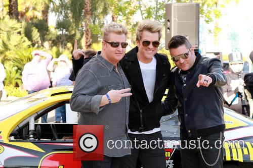 Gary Levox, Joe Don Rooney, Jay Demarcus and Rascal Flatts 2