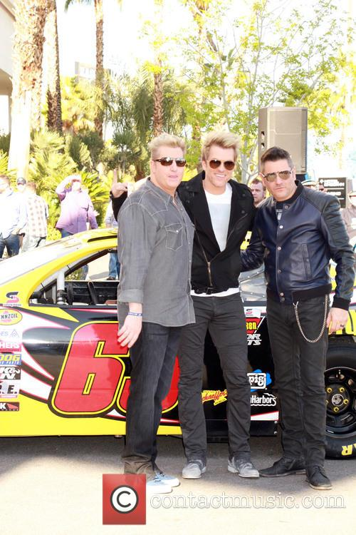 Gary Levox, Joe Don Rooney, Jay Demarcus and Rascal Flatts 3