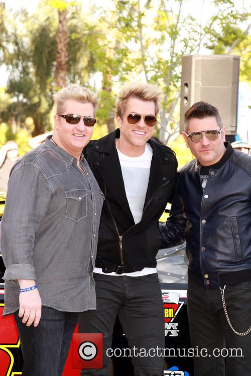 Gary Levox, Joe Don Rooney, Jay Demarcus and Rascal Flatts 4
