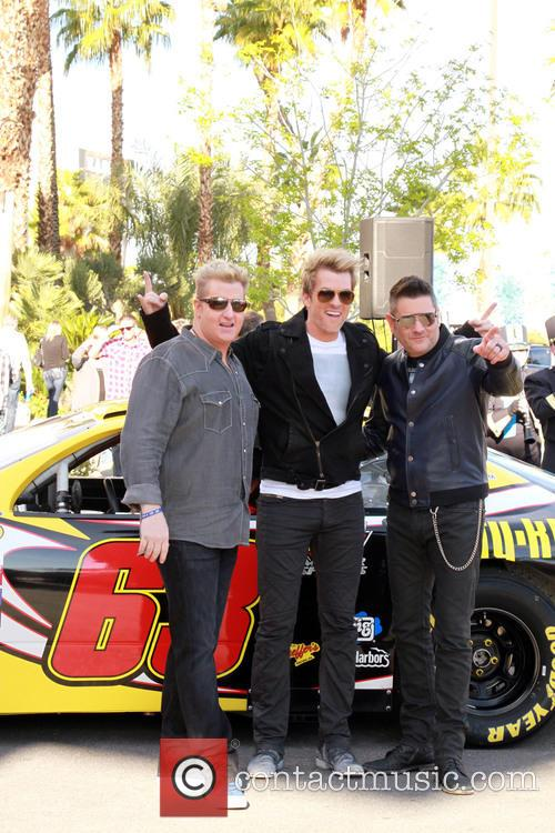 Gary Levox, Joe Don Rooney, Jay Demarcus and Rascal Flatts 1