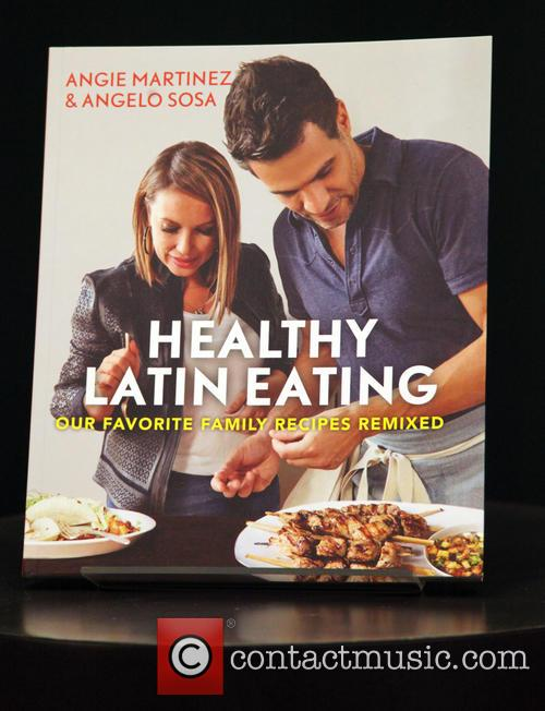 Angie Martinez, Angelo Sosa and Healthy Latin Eating