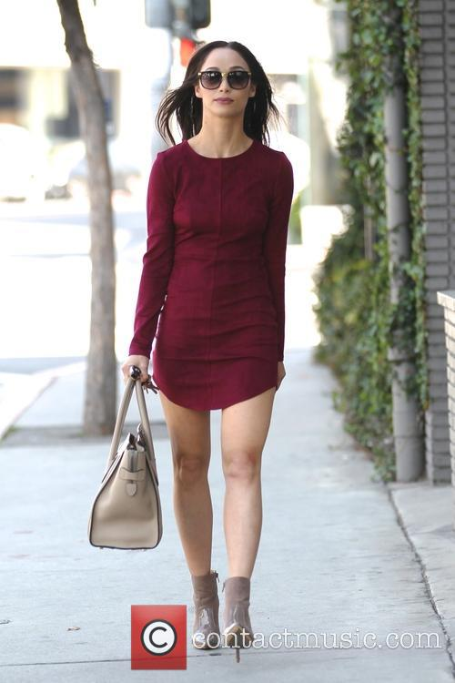 Cara Santana out getting her nails done in...