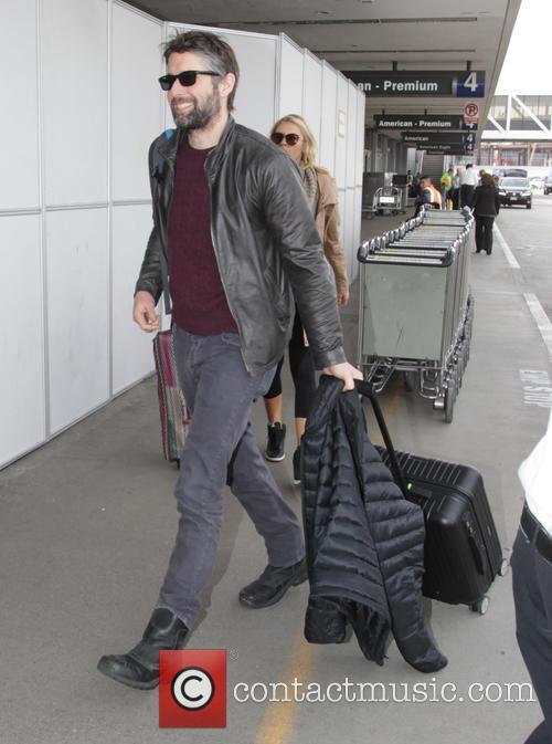 David Benioff departs from Los Angeles International Airport