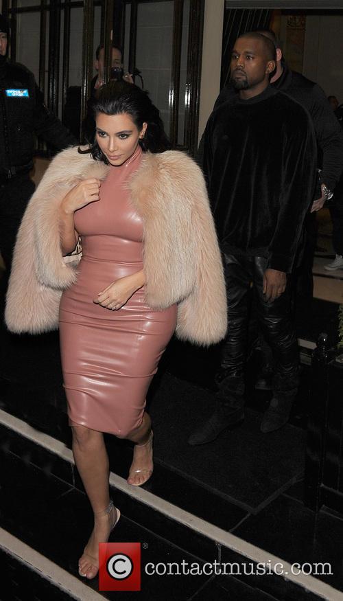 Kim Kardashian and Kanye West 3