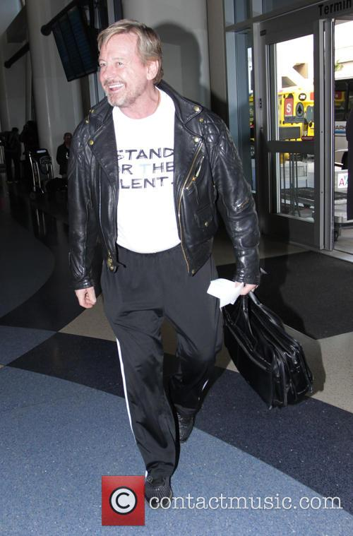 Roddy Piper departs from Los Angeles International Airport