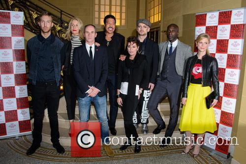 Calvin Harris, Sara Dallin, Lionel Richie, Lisa Stansfield, Boy George, Ozwald Boateng and Emilia Fox 5