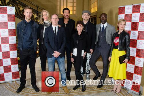 Calvin Harris, Sara Dallin, Lionel Richie, Lisa Stansfield, Boy George, Ozwald Boateng and Emilia Fox 6