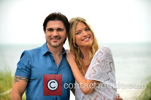 Juanes and Martha Hunt 2