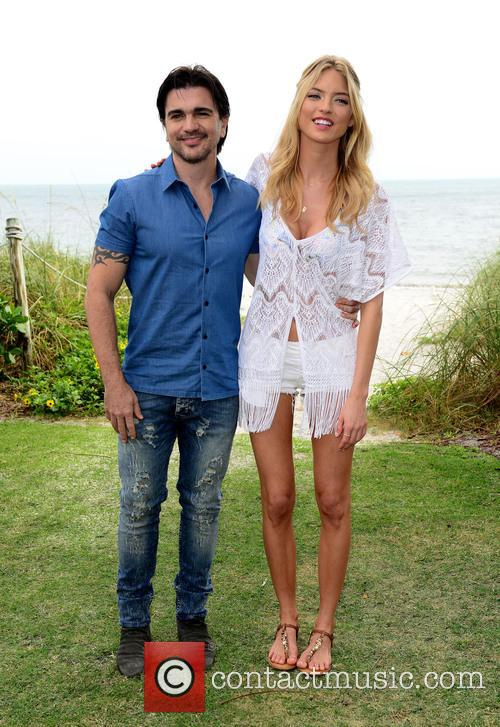 Juanes and Martha Hunt 9