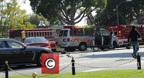 Hollywood Tour Bus Crash 4