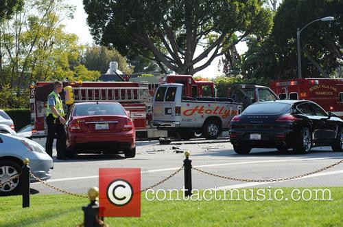 Hollywood Tour Bus Crash 6