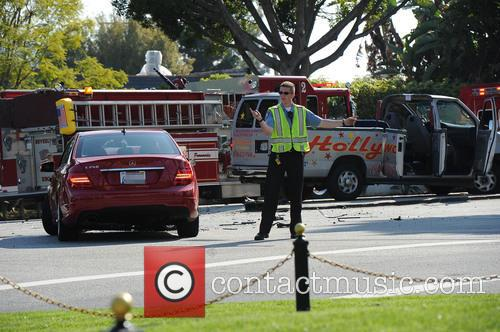 Hollywood Tour Bus Crash 7