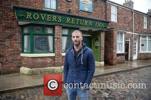 Coronation Street and Darcy Oake 1