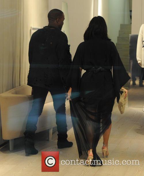 Kanye West and Kim Kardashian West 8