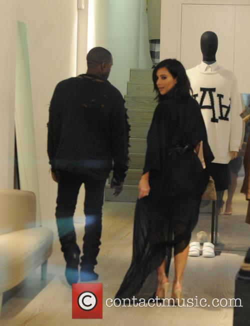 Kanye West and Kim Kardashian West 9