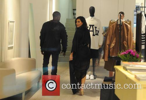 Kanye West and Kim Kardashian West 10