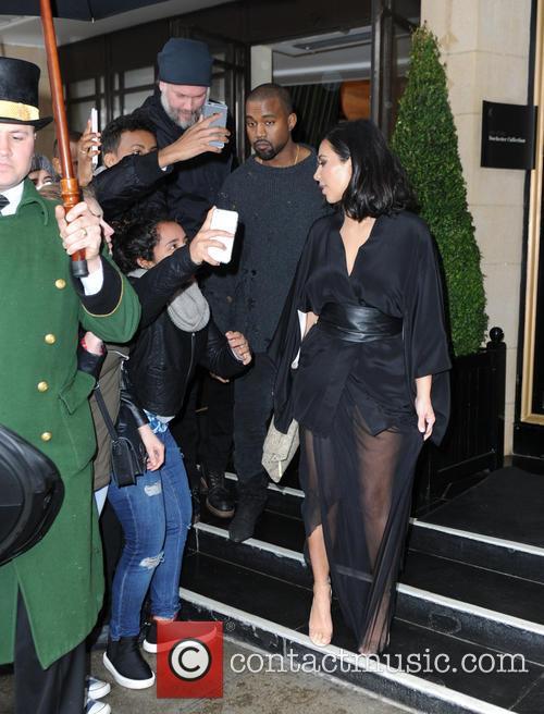Kim Kardashian West and Kanye West 5